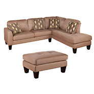 Picture of Joan 2-Piece Sectional with Ottoman