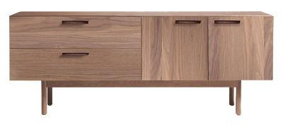 Shale 2 Drawer 2 Door Dresser