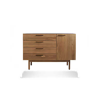 Picture of Shale 4 Drawer 1 Door Credenza