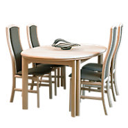 Picture of Skovby Oval Expanding Dining Table DC 05