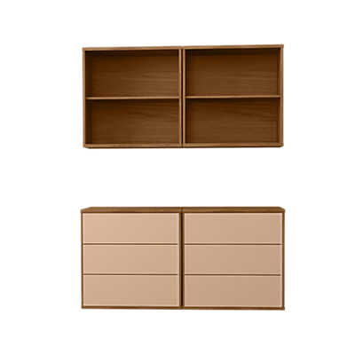 Picture of Skovby MODO 2x2 Floating Storage Wall SM 721-731