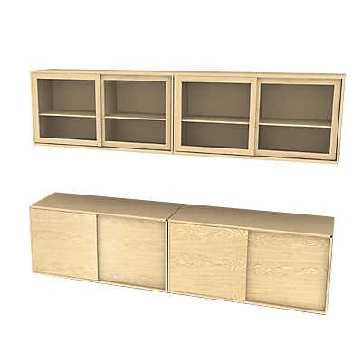Picture of Skovby MODO 4x2 Storage Wall SM 722-732