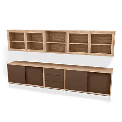 Picture of Skovby MODO 5x2 Storage Wall SM 722-732