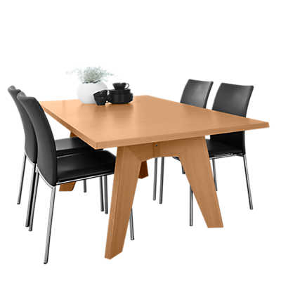 Picture of Skovby Rectangle Extending Dining Table SM 13