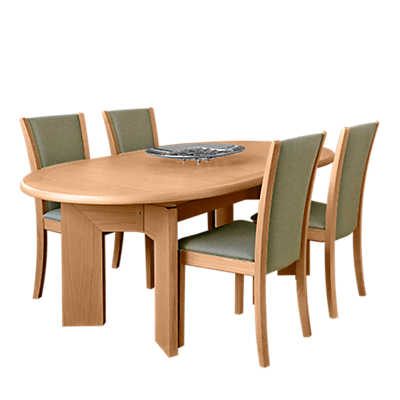 Picture of Skovby Oval Expanding Dining Table SM 14