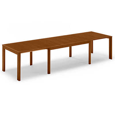 show details for skovby rectangular extending dining table sm 23
