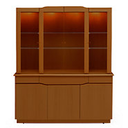 Picture of Skovby Buffet SM 303 and Hutch SM 354