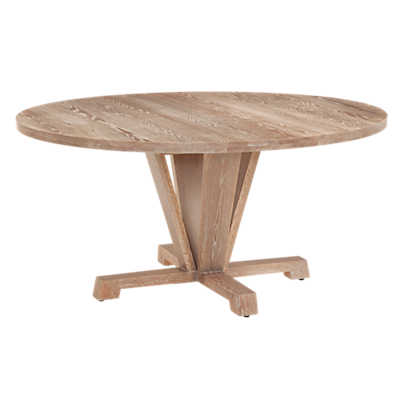 Picture of Boylston Round Extension Oak Dining Table