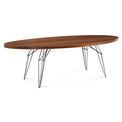 Picture of LEM Ellipse Dining Table in Maple