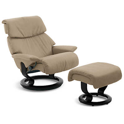 stressless dream chair medium and ottoman stressless chairs smart furniture. Black Bedroom Furniture Sets. Home Design Ideas