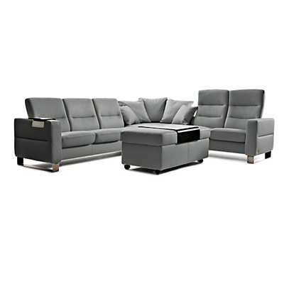 Picture of Stressless Wave Sectional, Highback