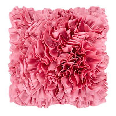 Picture of Frills Dusty Pink Pillow