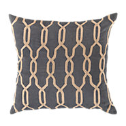 Picture of Laced Pillow, Indigo