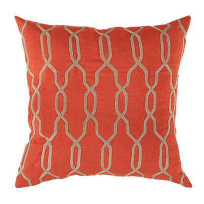 Picture of Laced Pillow, Red