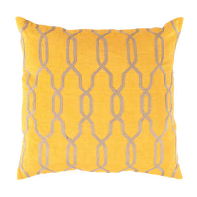 Picture of Laced Pillow, Yellow