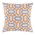 Picture of Geometry Pillow, Marigold and Slate