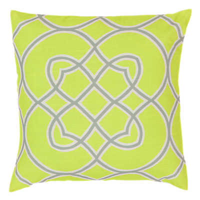Picture of Kaleidoscope Pillow, Neon Yellow