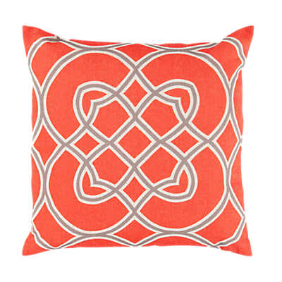 Picture of Kaleidoscope Pillow, Poppy