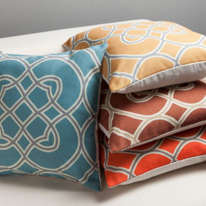 Surya Kaleidoscope Pillow