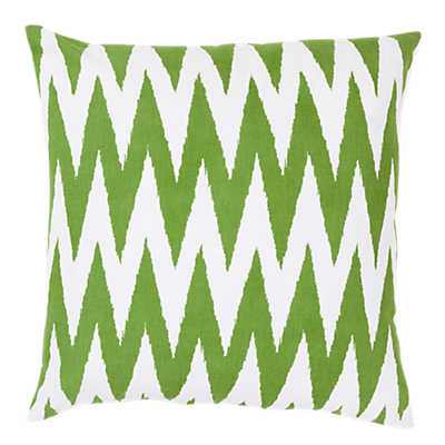 Picture of Chevron Pillow, Green