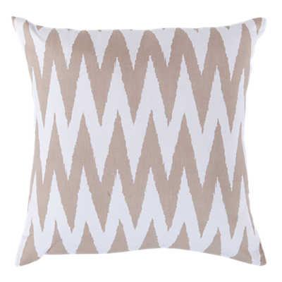 Picture of Chevron Pillow, Latte
