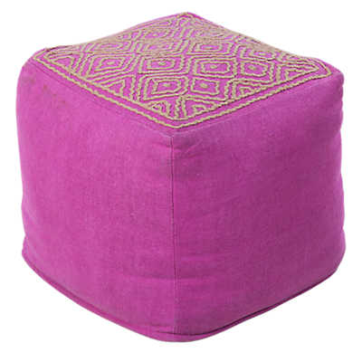 Picture of Orchid Pouf