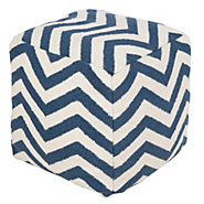 Picture of Chevron Pouf