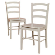 Picture of Cottage Ladder Back Chairs, Set of 2