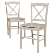 Picture of Cottage X-Back Chairs, Set of 2