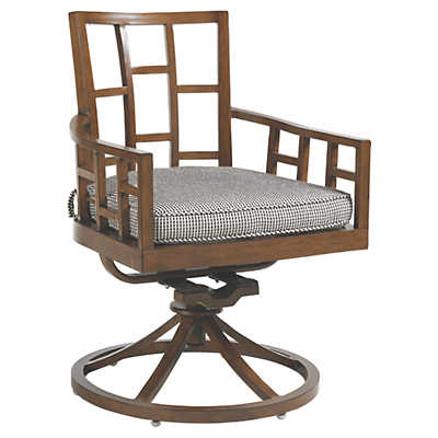 Picture of Ocean Club Resort Swivel Rocker Dining Chair