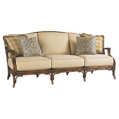 Picture of Island Estate Veranda Sofa with Boxed Edge Cushions