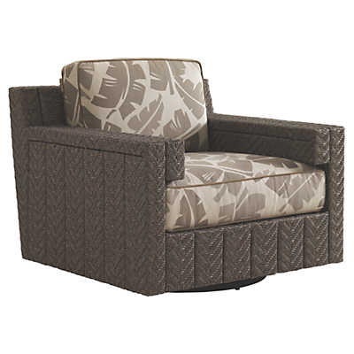 Picture of Blue Olive Swivel Glider Lounge Chair