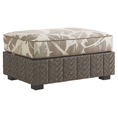 Picture of Blue Olive Ottoman
