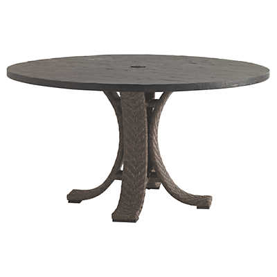 Picture of Blue Olive Round Dining Table