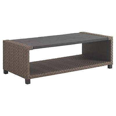 Picture of Blue Olive Rectangular Cocktail Table