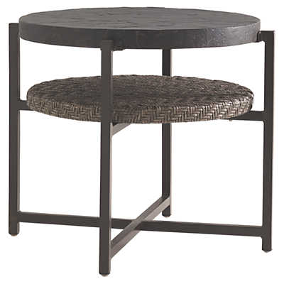 Picture of Blue Olive Round End Table