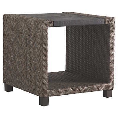 Picture of Blue Olive Square End Table