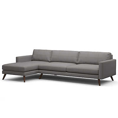 "Picture of Dane 116"" Sectional Sofa"