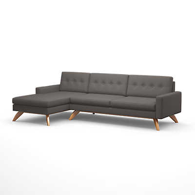 "Picture of Luna 113"" Sofa with Chaise"
