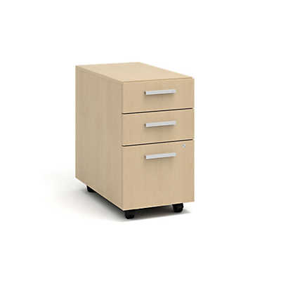 Picture of Currency Mobile Pedestal with Two Box Drawers and One File Drawer