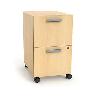 Picture of Currency Mobile Pedestal with Two File Drawers