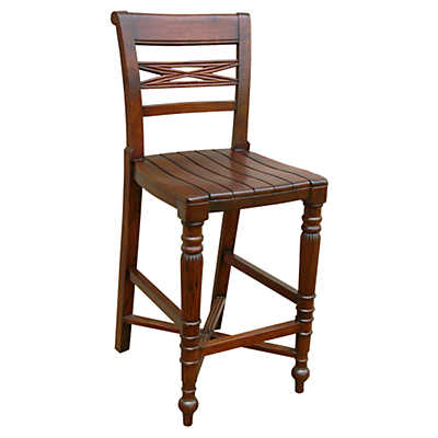 Picture of Raffles Wooden Seat Counter Stool