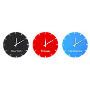 Picture of USA Clocks, Set of 3