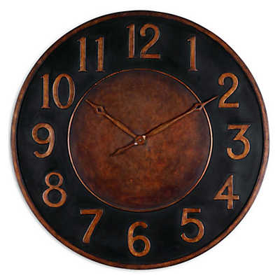 "Picture of Matera 36"" Metal Wall Clock"