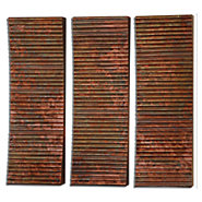 Picture of Adara Copper Wall Art, Set of 3