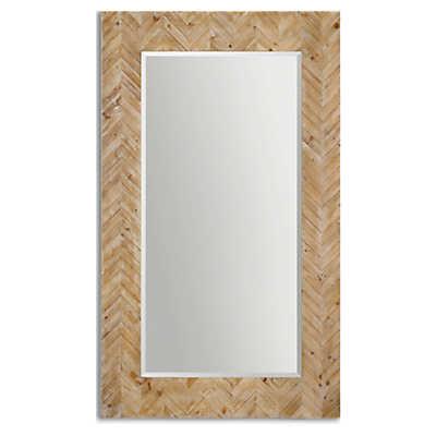 Picture of Demetria Oversized Wooden Mirror