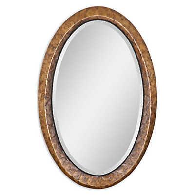 Picture of Capiz Oval Vanity Mirror