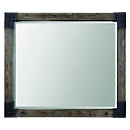 Picture of Nelo Weathered Wood Mirror