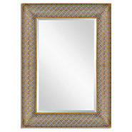 Picture of Ariston Stamped Metal Mirror