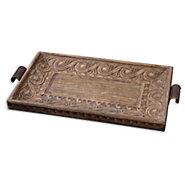 Picture of Camillus Wood Framed Decorative Tray